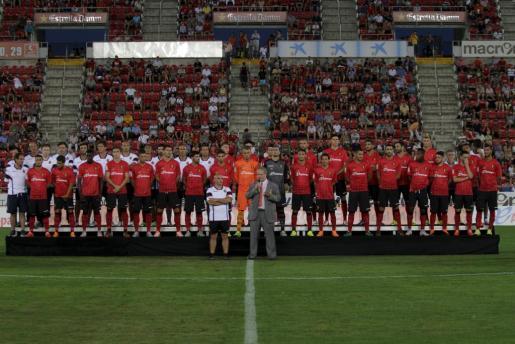 El Chapi Ferrer y Utz Claassen durante la presentación del equipo.