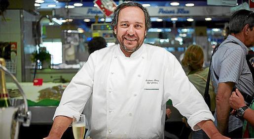El cocinero Guillermo Méndez.