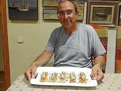 La coca de sardina de Marcos Pieras.