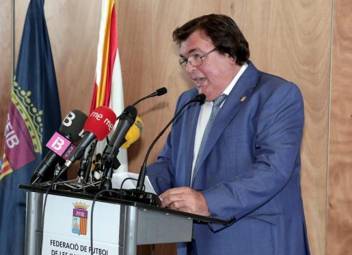 Miquel Bestard, presidente de la FFIB.