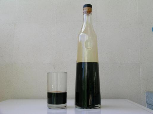 El color oscuro casi negro es característico del Palo de Mallorca.