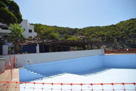 El restaurante Cala Conills con sus instalaciones ya cerradas.