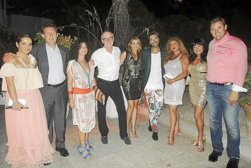Aurora Vega, Juan Massanet, Raquel Rodríguez, John Beveridge, Lucila Siquier, Andrés Llompart, Sedi Behvarrad, María Rosa Salinas y Toni Mir.