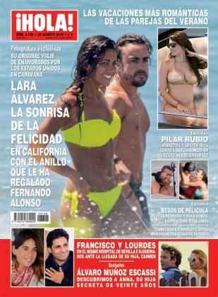 En el inferior de la portada se observa la imagen de Escassi junto a su hija.