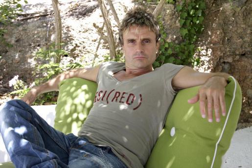 El músico Nacho Cano está pasando unos días de descanso y trabajo en Eivissa.