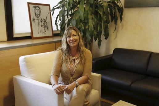 Patricia Gómez la Consellera de Salut de les Iller Balears.