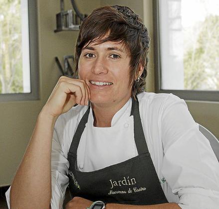 Macarena de Castro: detallista en los platos y en las respuestas.
