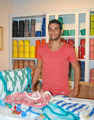 Biel Oliver es arquitecto y se quiere dedicar al diseño.