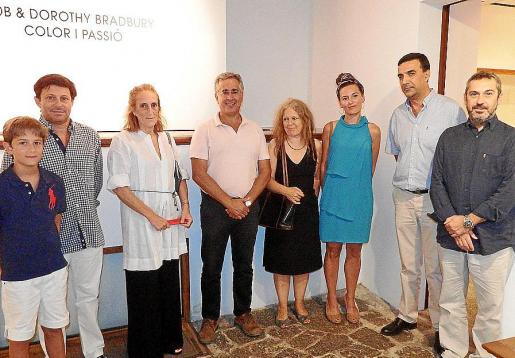 Oscar Mayol (Jr.), Oscar Mayol, Trini Morell, Rogelio Araújo, Susan Bradbury, Amanda Alvarellos, Jaume Servera y Rafel Creus.