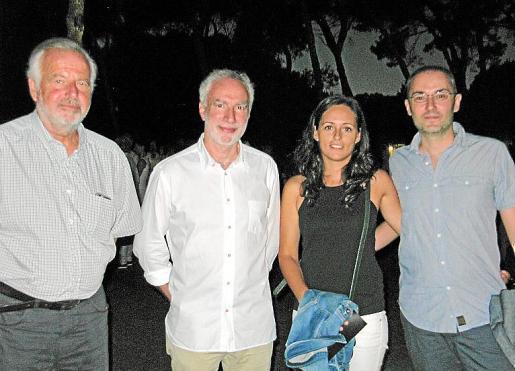 Luis Corral, Miquel Àngel March, Raquel Sáez y Daniel Canals.