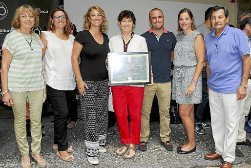 María Cortés, Lydia Larrey, Tiffany Blackman, Macarena de Castro, Josep Riera, Louise Martens y Josep Oliver.