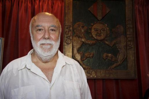 Jaume Ensenyat, en el Museu de Sóller, del que fue principal impulsor.