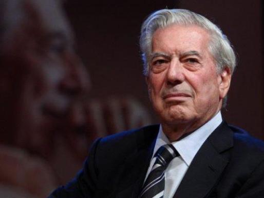 Fotografía de Mario Vargas Llosa, premio Nobel de Literatura.
