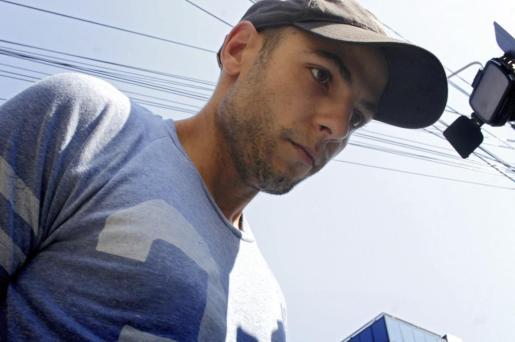 El español Sergio Morate, arrestado en Rumanía como principal sospechoso de la muerte de las dos jóvenes de Cuenca, tras su detención.