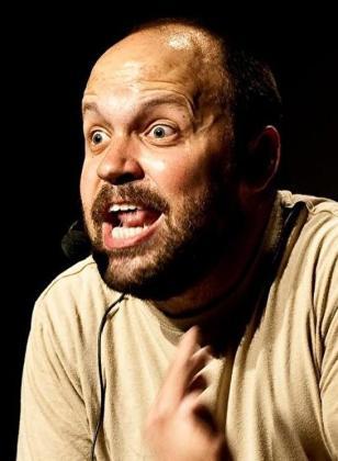 El humorista Miguel Noguera.