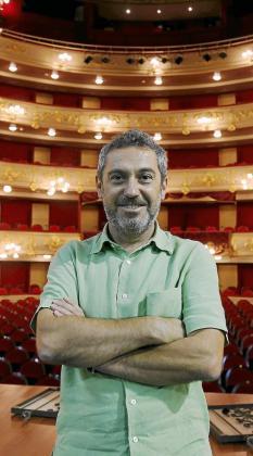El director insular de Cultura, Rafel Creus, en el Principal.
