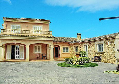 El chalet está valorado en más de 850.000 euros y está ubicado en Consell.