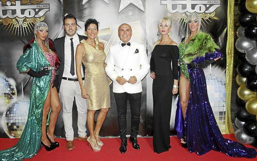 Anayida Bagdasarova, Xavi Manera, Isabel Coll, Jaime Lladó, Aleksandra  Rudenko y Yasmina Martínez.
