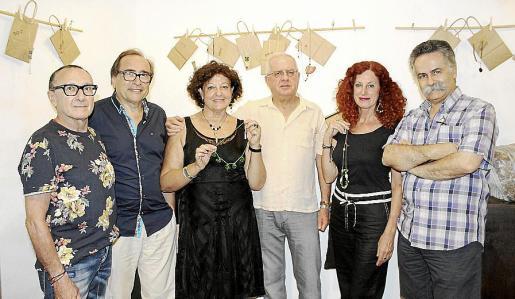 Jaume Llabrés, Miquel Ángel Benito, Francisca Llabrés, Joan Manresa, Catalina Sureda y Benet Bohigas.