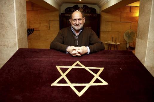 Abraham Bachilon, presidente de la comunidad judía balear.