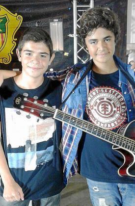 Marc Cuevas y Juan José Tur, ganadores del concurso. Foto: ARGUIÑE ESCANDÓN