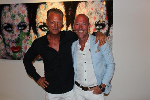 Anders Rupp y Thomas Johanson.