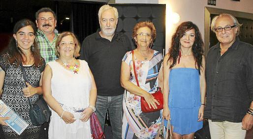 Laura de Luis, Gaspar Aguiló, Rosa María Sanz, José Luis Luna, Francisca Socías, Bárbara Pastor y Ferrán Pereyra.