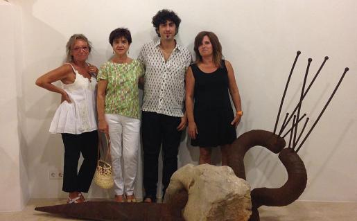 Judith Avinyó, Maria Llitrà, Pol Font e Irene Font.