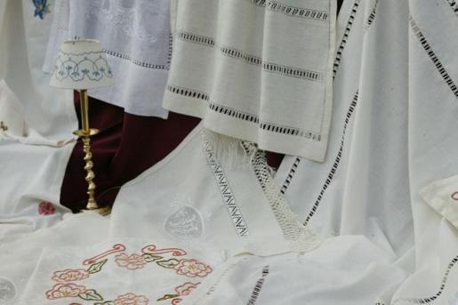 Los bordados más tradicionales, en el centro de Palma.