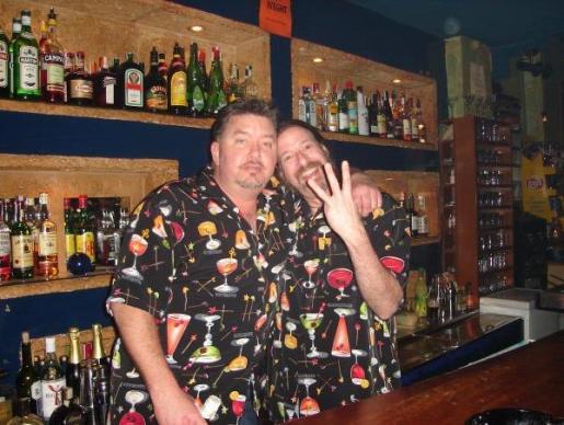 El Agua Bar cuenta con unos simpáticos camareros.