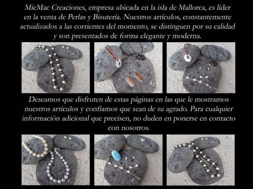 Varias de las originales creaciones de Micmac.