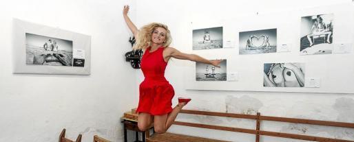 Lorena del Pozo ayer en Can Jordi. Foto: DANI ESPINOSA