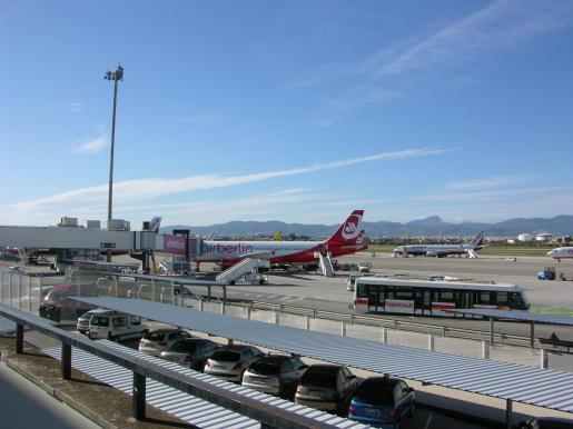 Foto de archivo del aeropuerto de Son Sant Joan.