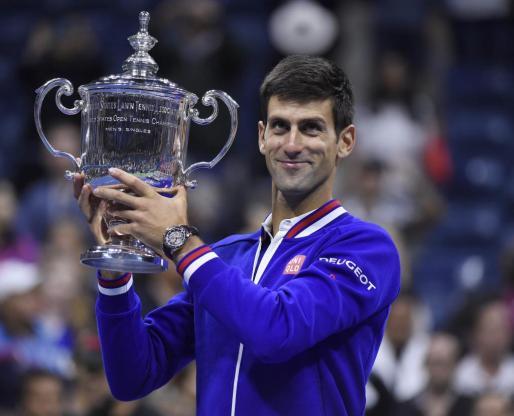 Novak Djokovic, tras su victoria.