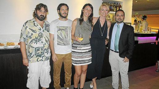 Toni Palenzuela, Xisco Martorell, Marga Melià, Sandra Seeling y Marcos Cabotà.