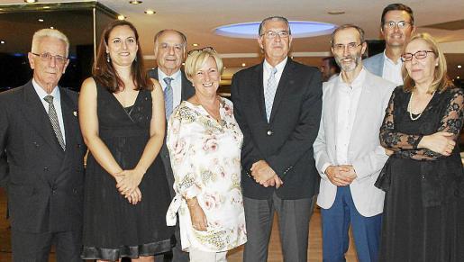 Miquel Puigserver, Carla Mercé, Alfonso Ruiz-Abellán, Margalida Riutort, Antonio Comas, Luis Vitrera, Arnau Cañellas y Lourdes Gayá.