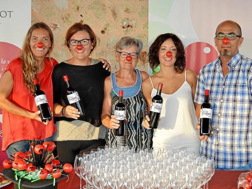 Fanny Guerrero, Xisca Boades, Cati Ribot, Catalina Galmés y Julio Torres.