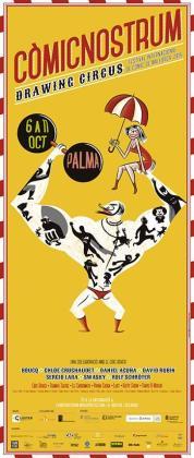 Cartel promocional del Festival Còmic Nostrum.