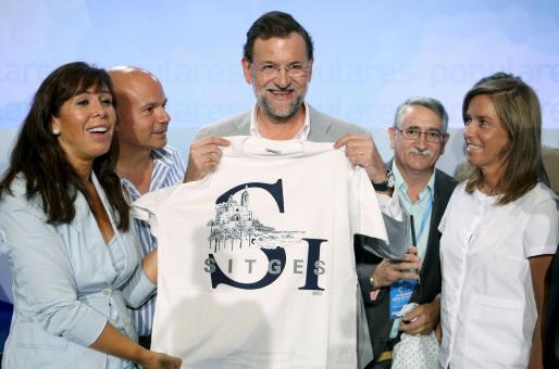 Mariano Rajoy clausuró ayer la escuela de verano del PP celebrada en Sitges