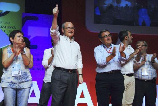 José Montilla participó este fin de semana en la convención del PSC en Lleida.