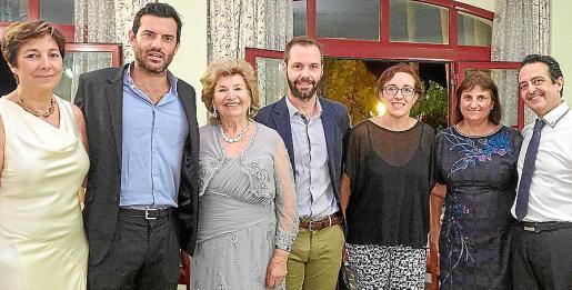 María Antonia Martorell, Josep Enric Claverol, María Fullana, Alfonso Meaurio, Joana María Adrover, Gabriela Martorell y Miquel Angel Prohens.
