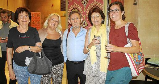 Alicia Pérez, Ana Pascual, Miquel Perelló, Montse Company e Isabel Mut.