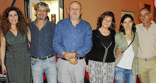 Carmen Cañadas, Carlos Quintana, Miquel Ensenyat, Montse Querol, Paula Torres y Rafel Frutos.