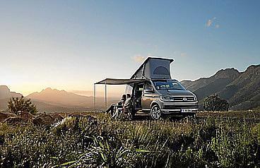 La nueva gama T6 se amplía con su vehículo camper por excelencia.