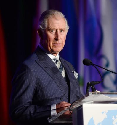 El príncipe Carlos de Reino Unido habla ante la Fundación Internacional de Conservación Caucus, el jueves 19 de marzo de 2015, en el Andrew Mellon Hall, en Washington (DC, EE.UU.).