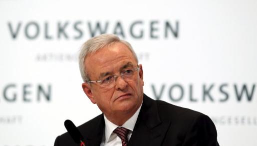 El presidente de Volkswagen, Martin Winterkorn.