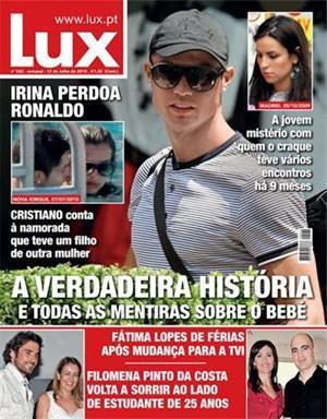 En la publicación Lux de Portugal se muestran las primeras imágenes de la joven que ha tenido un hijo con Cristiano Ronaldo.