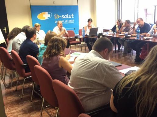 Reunión de la Mesa Sectorial de Sanidad.