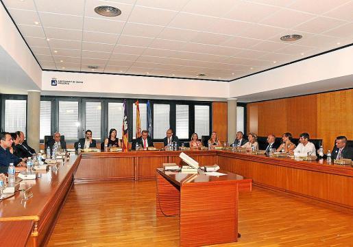 Pleno del Ajuntament de Calvià.