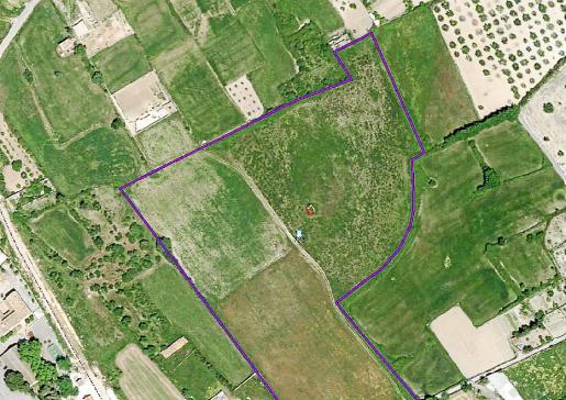 Vista aérea de los terrenos donde se ubicará la futura residencia.